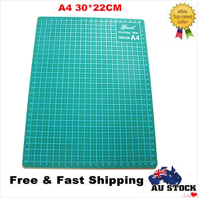 A4 Cutting Mat Printed Grid Lines Non Slip Knife Board Crafts Model Self Healing