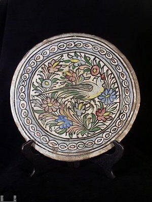 Large Anique Round Persian Tile