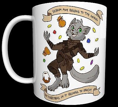Skyrim for the Nords Items for Khajiit Mug Cup Gift Souvenir Art Present