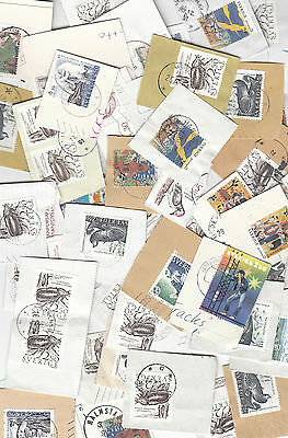 Sweden Commemoratives only Kiloware - stamps on paper 225grms.