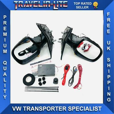 For VW T5 Transporter 03-09 Pre Facelift Electric Power Folding Mirrors Upgrade