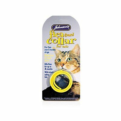 Johnsons Flea Guard Collar for Cats REFLECTIVE