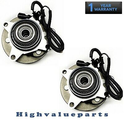 Pair of Front Wheel Bearing & Hub Assembly for Ford F-150 2009 2010 4WD 515119