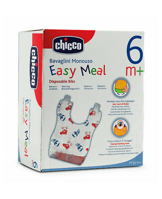 Bavaglini monouso Chicco Easy Meal