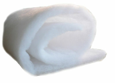 Aquarium Pond TWIN PACKS Filter Spare Wool Fish Tank Foam Sponge Media Wadding