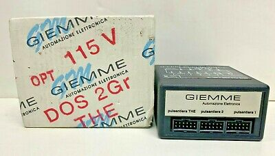 Espresso Machine control box Giemme single group  rlo 1e/1s/4c/f comericial