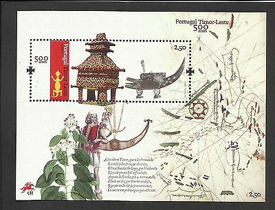 Portugal 2015 - 500 Years Portugal / East Timor S/S MNH