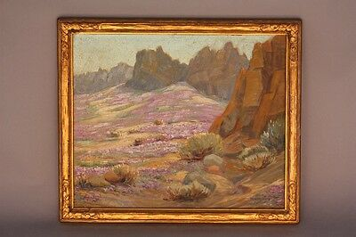 Beautiful Painting of Colorful Desert Landscape William Arthur Paxton Art (8564)
