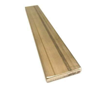 "Brass Flat Bar Stock 3/16""(.1875"") x 1"" x 6"" C360 Extruded Rectangle Metal - 1pc"