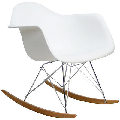 Modway Furniture Rocker Lounge Chair White - EEI-147-WHI Chair NEW