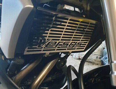 Kawasaki Versys 650 (2007-2014) Stainless Steel Radiator Grill Guard Cover