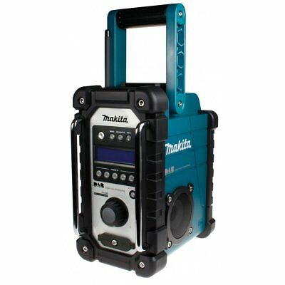 Makita Dmr104 W Dab Digital Job Site Radio In Blue Or White Brand New Was Bmr104