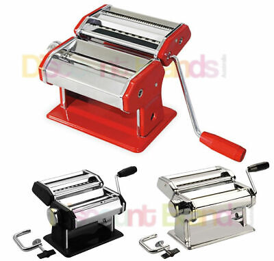New Avanti Stainless Steel Pasta Making Machine Adjustable 150Mm Select Colour