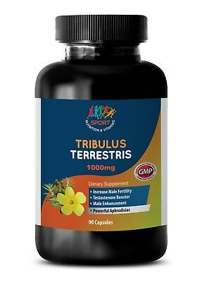 Tribulus Terrestris 1000mg Extract Weight Gain Cleansing Supplement 1 Bottle