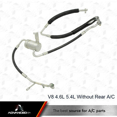 AC Suction & Discharge Manifold Line Fits: 1999 - 2002 Ford Expedition 4.6L 5.4L