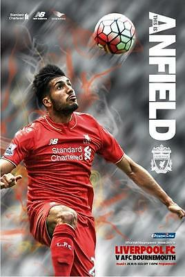 2015/16 - LIVERPOOL v BOURNEMOUTH (CAPITAL ONE CUP - 28th October 2015)