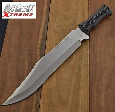 MTech USA XTREME Bowie Raptor  FIXED BLADE KNIFE Knives  Bush Survival  MX-8070