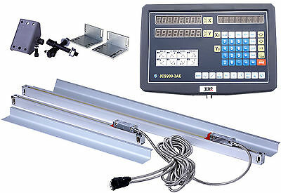 CNC Digital Readout  2 Axis DRO Kit for Mill Lathe Machine with TTL Linear Scale
