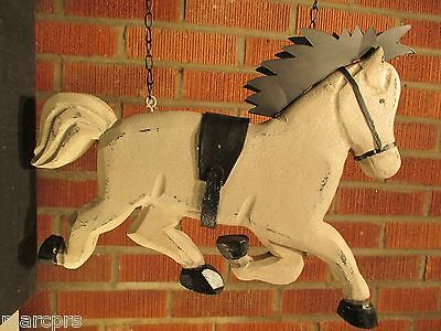 """RUNNING HORSE"" Replacement Sign - Resin Sign for Country Arrow Holders"