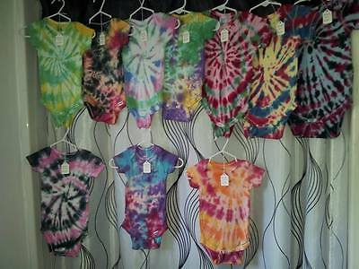 Tie Dyed Infant Onesie - Sizes up to 24 months!  $9.99 each!