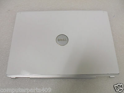 """NEW 15/"""" Genuine Dell Inspiron 1420 LCD Back Cover Lid Yellow Hinges JW671 0JW671"""