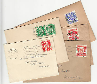 Guernsey WW2 Occupation Stamps & Covers
