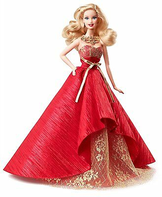 Barbie Collector 2014 Holiday Doll (BDH13) BRAND NEW BBE