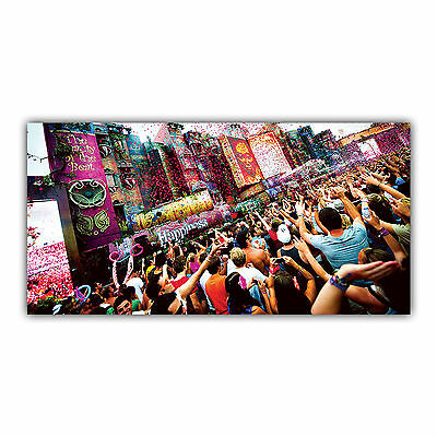 Tomorrowland Tableau Poster Décoration Photo Festival Musique DJ Techno ARIMAJE