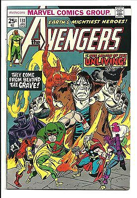 AVENGERS # 131 (1st LEGION OF THE UNLIVING, JAN 1975), VF