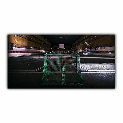 Hockey Tableau Poster Décoration Photo Sport Stade Patinoire Glace ARIMAJE