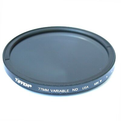 Tiffen 77mm Professional Variable Neutral Density ND Filter -  NEW