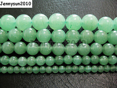 Natural Aventurine Gemstone Round Beads 15.5'' 2mm 3mm 4mm 6mm 8mm 10mm 12mm