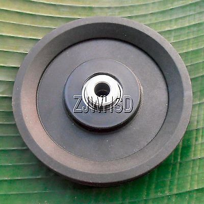 "Universal 115mm 4.5""Nylon Bearing Pulley Wheel Cable Gym Fitness Equipment Parts"