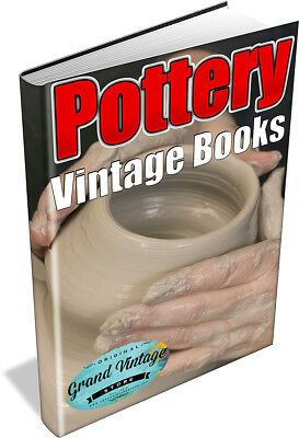 29 Rare Pottery Books On Dvd - Vase, Plate, Figurine, Kiln, Clay, Potters Wheel
