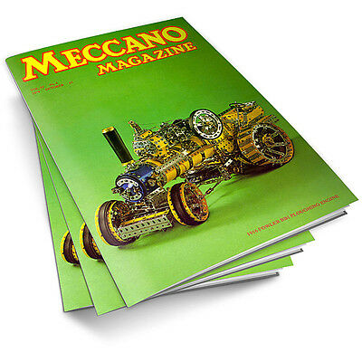 MECCANO MAGAZINES 650 on 3 DVD's Construction COMPLETE COLLECTION!