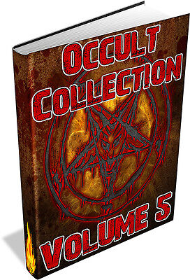 RARE OCCULT BOOKS Vol 5 DVD - Alchemy,Theosophy,Voodoo,Wicca,Witchcraft,Paganism