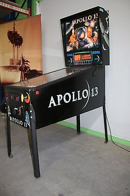 Apollo 13 Flipper Pinball SEGA F0676