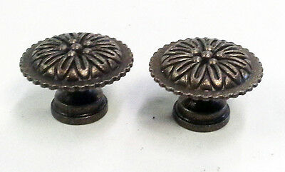 Solid Brass Cabinet Knob Pull Set of 2