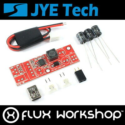 Step up Convertor 9V Out DIY Kit Unsoldered Genuine JYE-TECH 140 Flux Workshop