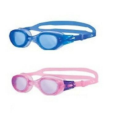 71050585b20 ZOGGS PHANTOM ELITE JUNIOR Swimming Goggles Anti Fog Lens Ages 6 ...