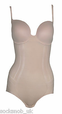 Ladies Nude Ultimate Shapewear Technology Firm Body Control 38 D,DD