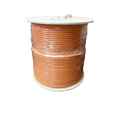 Commscope F677TSEF-XP-ORG 1000' Tri-Shield Flooded Underground RG6 Coxial Cable