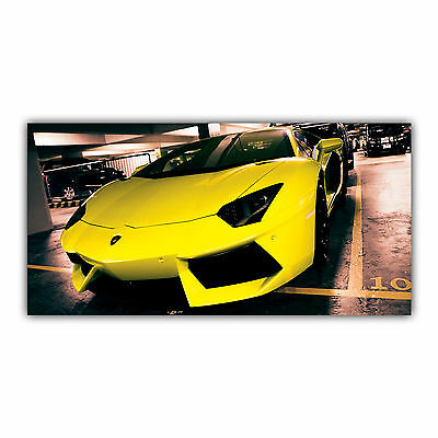 Lamborghini Tableau Poster Décoration Photo Aventador Sport Automobile ARIMAJE