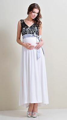 Maternity Evening dress,Baby Shower Wedding Party Maternity Gown Christmas Maxi