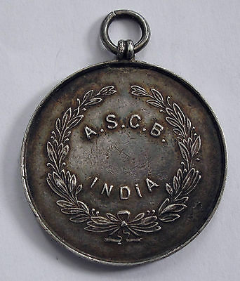 1931 British India Secunderabad Garrison Silver Medal Tpr. Mayers A. Xf