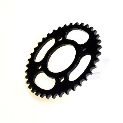 420 37 Tooth Rear Chain Black Sprocket 58mm Motorcycle ATV Quad Pit Dirt Bike