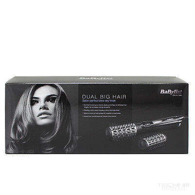 BaByliss Dual Big Hair 50mm Spinning Brush Heat Styler