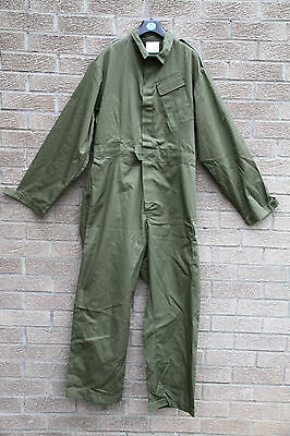 Gb Overalls British Army Green Boiler Suit Used Mechanic Military