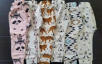 Unisex Hipster Toddler Leggings!Size 12- 24 months 2t  TeePee, Panda, Tigers