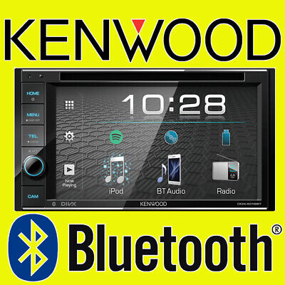 "Kenwood Car CD DVD USB Double Din Stereo Bluetooth iPhone 6.1"" DAB Radio Aerial"